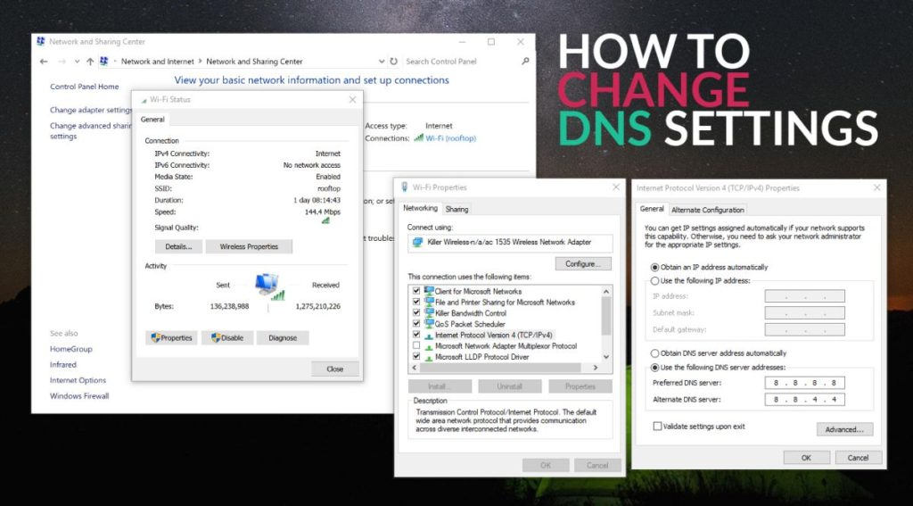 How to change DNS settings on Mac, iPad, iPhone and prevent your ISP from tracking you?